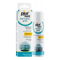 Лубрикант на водній основі pjur MED Natural glide 100 мл спеціально для сухої і чутливої ??шкіри