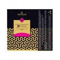 Пробник стимулюючого мастила Sensuva - Ultra-Stimulating On Insane (6 мл)