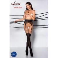 Еротичні колготки TIOPEN 003 nero 1/2 (20/40 den) - Passion
