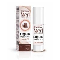Лубрикант з ефектом вібрації Amoreane Med Liquid Vibrator Chocolate (30 мл)