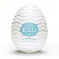 Мастурбатор яйце Tenga Egg Wavy (Хвилястий)