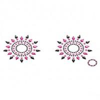 Пестіс з кристалів Petits Joujoux Gloria set of 2 - Black / Pink