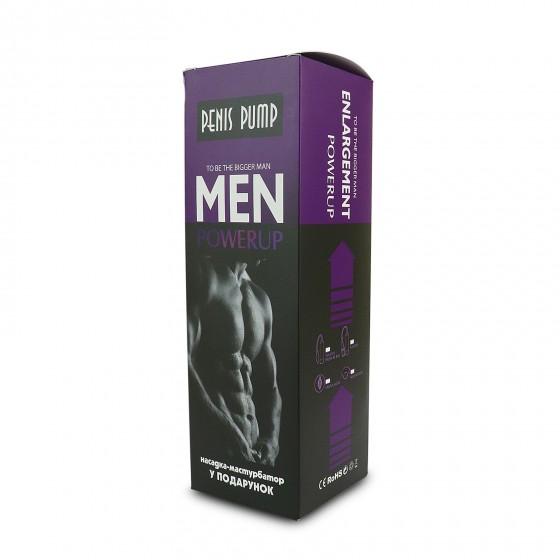 Вакуумна помпа з ручною «грушею» Men Powerup