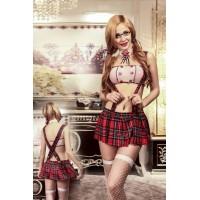 Еротичний костюм школярки Розпещена Тіна