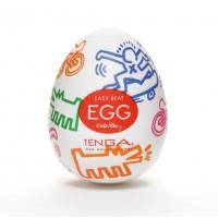 Мастурбатор яйце Tenga Keith Haring EGG Street