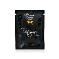 Пробник масажного масла Plaisirs Secrets Caramel (3 мл)