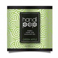 Пробник смакового гелю для оральних ласк Sensuva - Handipop Green Apple (6 мл)