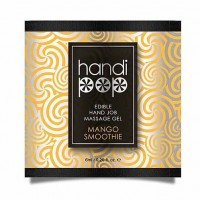 Пробник смакового гелю для оральних ласк Sensuva - Handipop Mango Smoothie (6 мл)