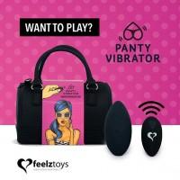 Вібратор в трусики FeelzToys Panty Vibrator Black