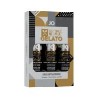 Набір System JO Tri-Me Triple Pack - Gelato (3 х 30 мл) три різні смаки серії Джелато