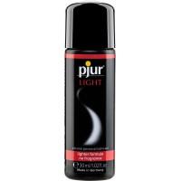 Силіконова змазка pjur Light 30 мл сама рідка, 2-в-1 для сексу і масажу