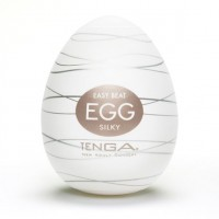 Мастурбатор яйце Tenga Egg Silky (Ніжний Шовк)