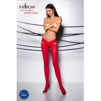 Еротичні колготки TIOPEN 005 roso 3/4 (60 den) - Passion