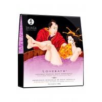 Гель для ванни Shunga LOVEBATH - Sensual Lotus 650гр, робить воду ароматним желе зі SPA ефектом