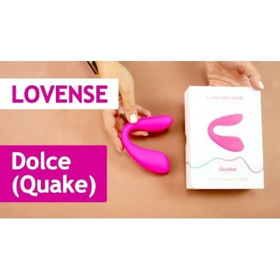Подвійний смарт вібратор Lovense Dolce (Quake)